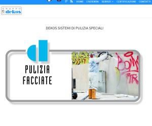Nuovo sito per Gruppo Dekos